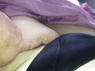 She Pulls My Uncut Cock,pubes Hank From Silk Pantys.