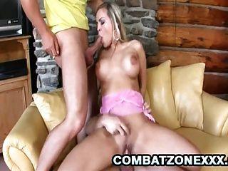 Euro Babe Mia Leone Gets Double Penetration