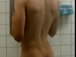 Teammate Caught Naked In The Shower