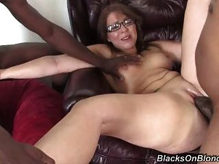 Amateur White Mom Owned By Two Bbcs