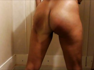 Shower Self Spanking And Some More