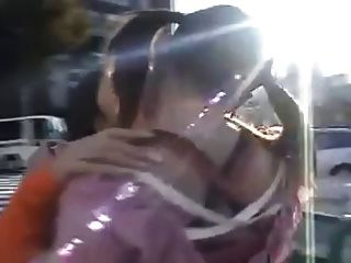 Public Lesbian Kiss Japan Girls