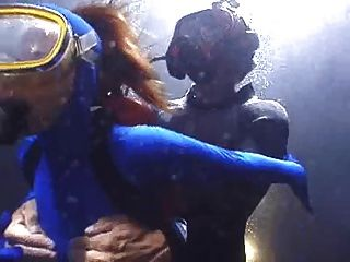 Rough Scuba Fuck In Spandex - Part 2