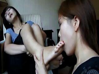 Asian Girls Fulfill Their Foot Fetish Fantasies