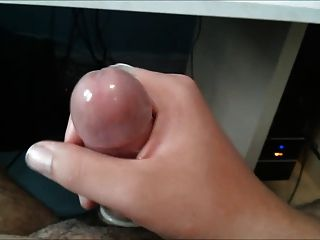 Masturbating With A Condom On While Watching Porn