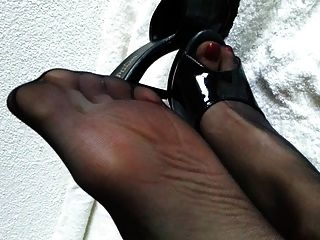 Nylon Feet And High Heels