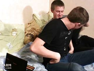 Two Cute Boys Get To Passionate Twink Love Making
