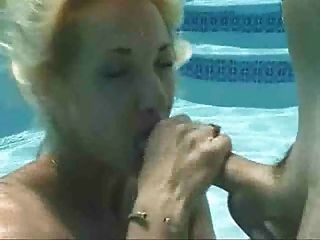 Cute Big Boobs Blonde In Wet Blowjob