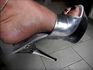 High Heel Mules