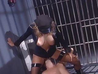 Female Cop Seduces A Male Inmate