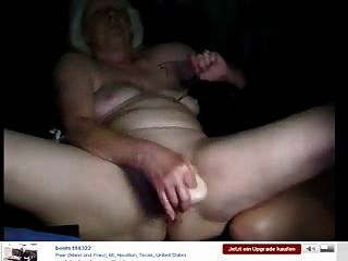 Watch Grandma Having Fun On Webcam