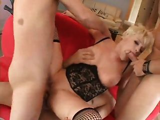 Two Cocks In One Cunt Feel Super