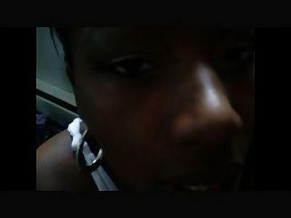 Black Girlfriend Messy Facial