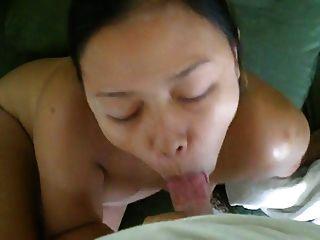 Thai Girl Asks For Cum