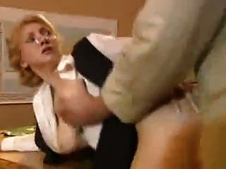 Blonde Teacher Fuck In School