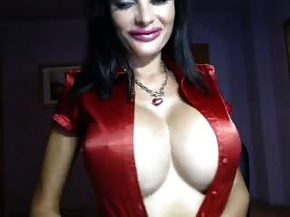 Camgirl Playing With Her Big Tits