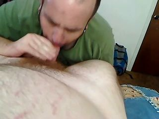 Rocker Cub Swallows All Redhead Bear Cum