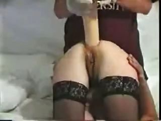 Huge Dildo In Her Ass