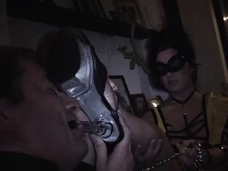 Me Worshipping Mistress Sophie At A Party - Part2