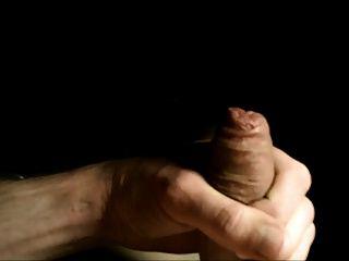 Close Up Uncut Foreskin Wank
