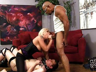 Wife Butt Fucked In Front Of Humiliated Cuckold