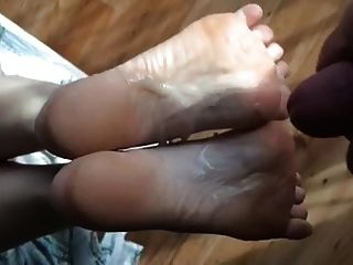 Cumshot On Soles