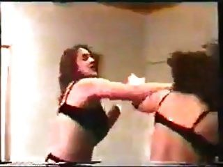 Lingerie & Stockings Catfight