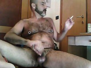 Smoking And Cumming