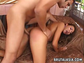 Asian Chick Ass And Face Fucked