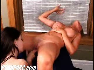 Lesbian Sex With Big Tit Babe Pt4