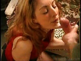 Redhead Got Cum On Her Face