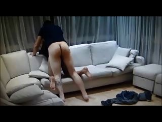 Hot Homemade Fuck On Couch