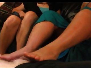 Cum All Over Our Milf  Feet