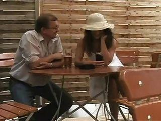 Suck Scene In A Restaurant.