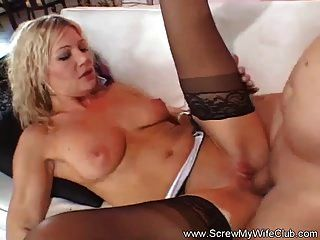 Blonde Milf Tries A New Dick
