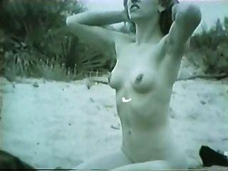 Pin-up Girl In The Desert