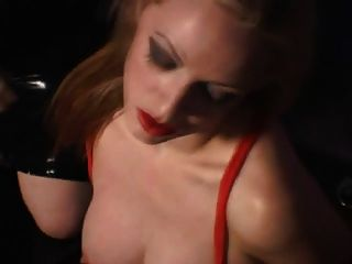 Mistress Having Fun With Her Blonde Slave Girl