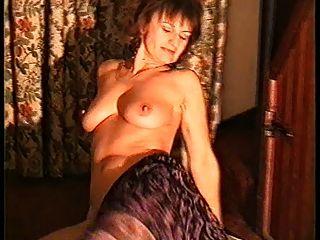 Yvonne Naked On The Carpet