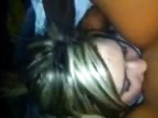 Lesbian Burys Head In Pussy