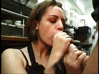 Blowjob And Facial At Work