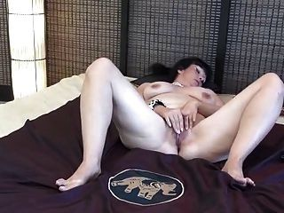 Mature Lady Toying With Herself