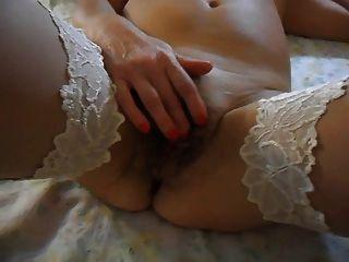 Very Nice Hairy Pussy Masturbation