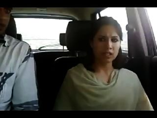 Northindian Young Couples Enjoyed In Car Part-ii