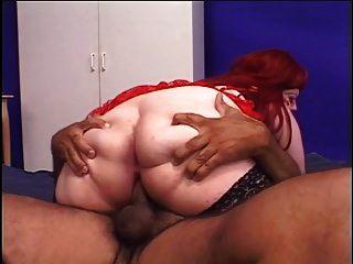 Big Butt Redhead