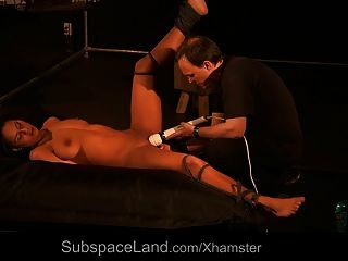 Master Orgasms Slave Before Giving Whip Pain