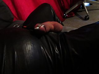 Huge Electro Stimulation Cumshot Through Dilator &anal Dildo