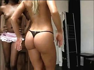 Two Girls With Nice Big Asses Dance