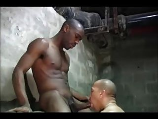 French Interracial Thugs In Basement