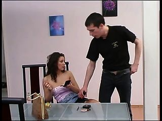 Brunette Russian Strapon Lady 8