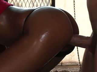 Hot Black Bitch With Perfect Ass